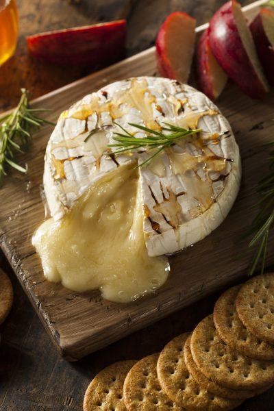 Camembert rôti au miel à la Truffe & Romain by Truffes&Co