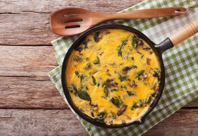 Omelette champignons et salsa tartufata by Truffes&Co