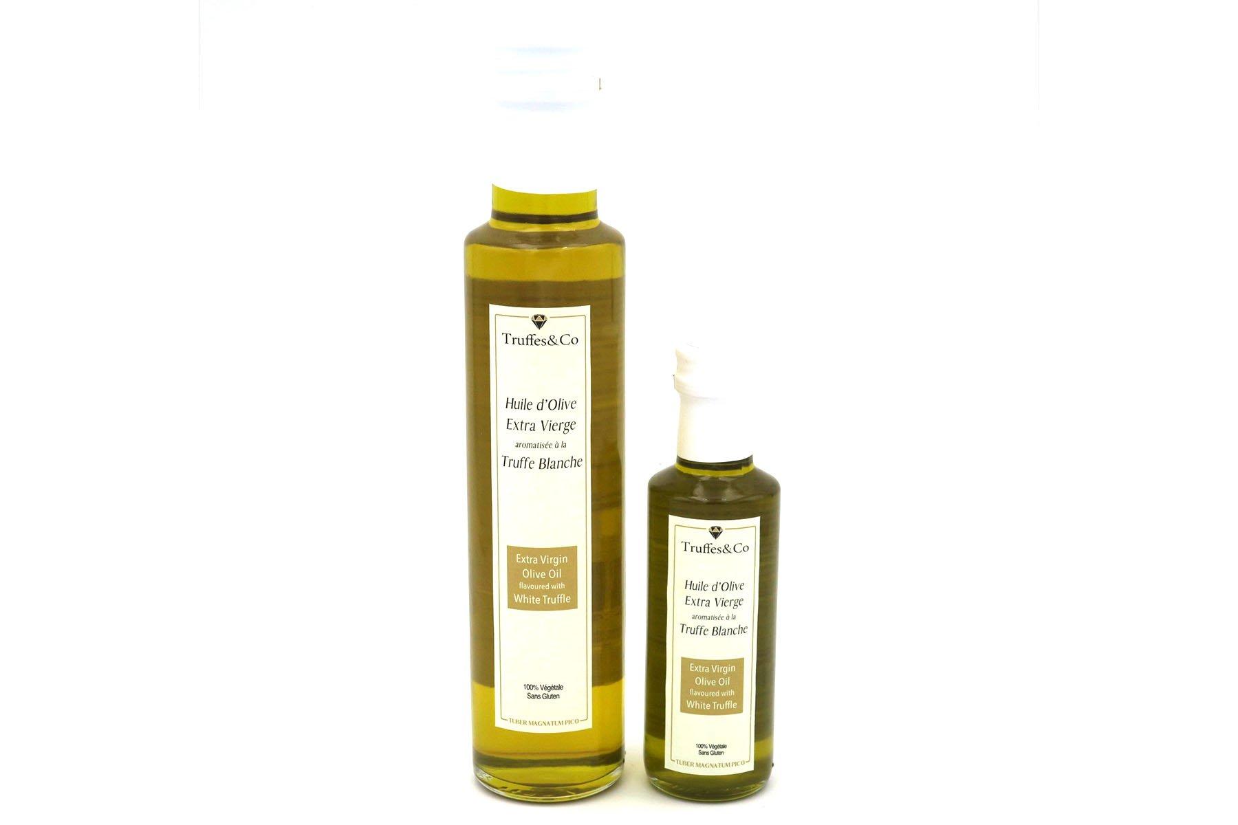TC-HARB100&250 Huile d'olive aromatisée à la Truffe Blanche Truffes&Co