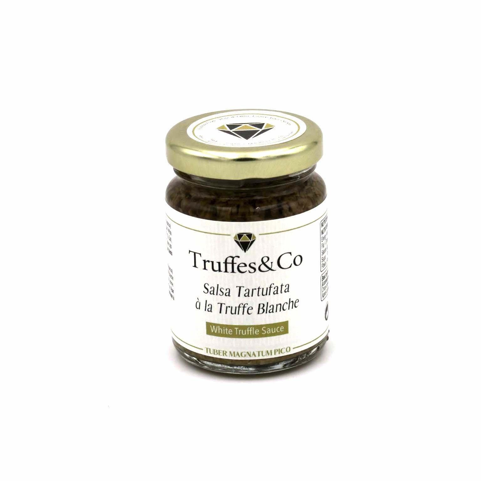 TC-STB90 Salsa Tartufata à la Truffe Blanche by Truffes&Co