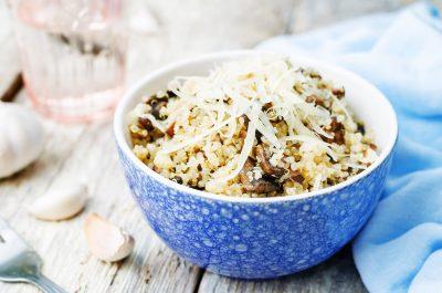 Risotto de Quinoa à la Truffe - Recette by Truffes&Co